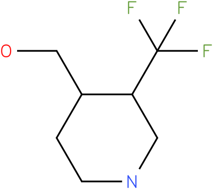 (3-Trifluoromethyl-piperidin-4-yl)-methanol
