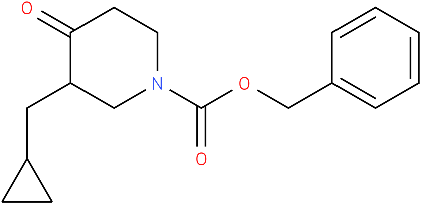 1-Cbz-3-cyclopropylmethyl-piperidin-4-one