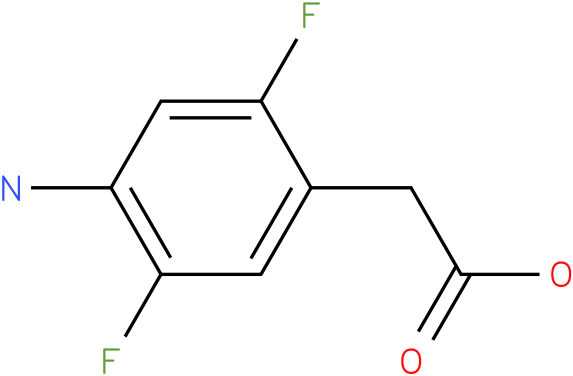 (4-Amino-2,5-difluoro-phenyl)-acetic acid