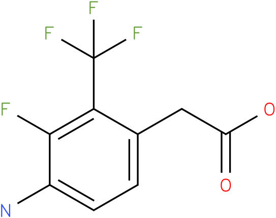 (4-Amino-3-fluoro-2-trifluoromethyl-phenyl)-acetic acid
