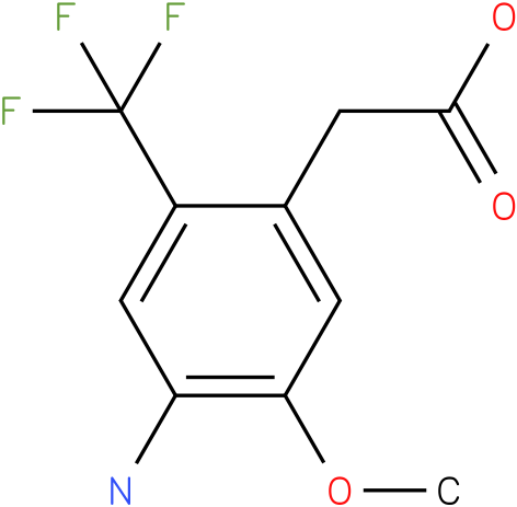 (4-Amino-5-methoxy-2-trifluoromethyl-phenyl)-acetic acid