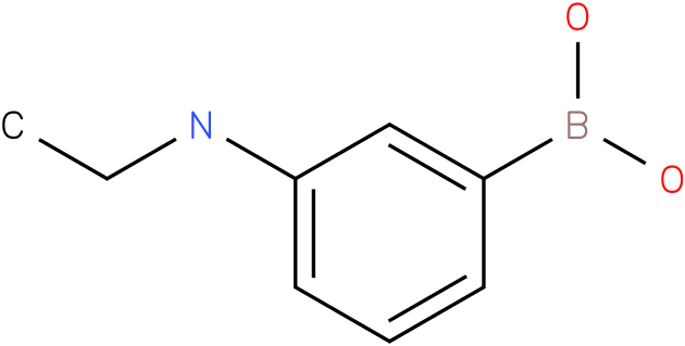 3-Ethylaminophenylboronic acid