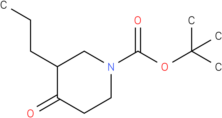1-Boc-3-n-propyl-piperidin-4-one