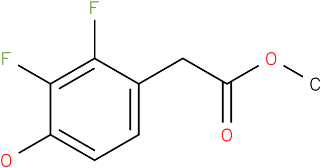 (2,3-Difluoro-4-hydroxy-phenyl)-acetic acid methyl ester
