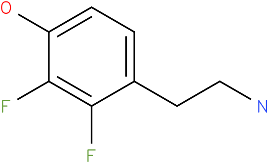 4-(2-Amino-ethyl)-2,3-difluoro-phenol