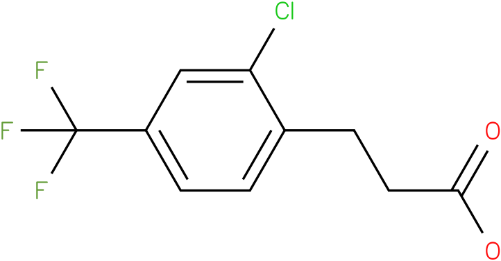 3-(2-Chloro-4-trifluoromethyl-phenyl)-propionic acid