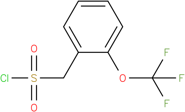 2-(Trifluoromethoxy)benzylsulphonyl chloride