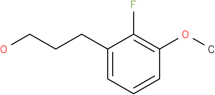 3-(2-Fluoro-3-methoxy-phenyl)-propan-1-ol