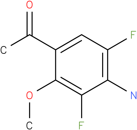 1-(4-Amino-3,5-difluoro-2-methoxy-phenyl)-ethanone