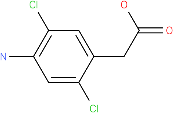 1-(4-Amino-2,5-dichloro-phenyl)-acetic acid