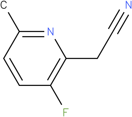 (3-Fluoro-6-methyl-pyridin-2-yl)-acetonitrile