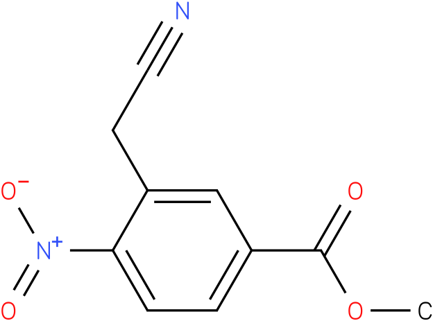 methyl 3-(cyanomethyl)-4-nitrobenzoate