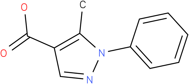 3-Methyl-2-phenylpyrazole-4-carboxylic acid
