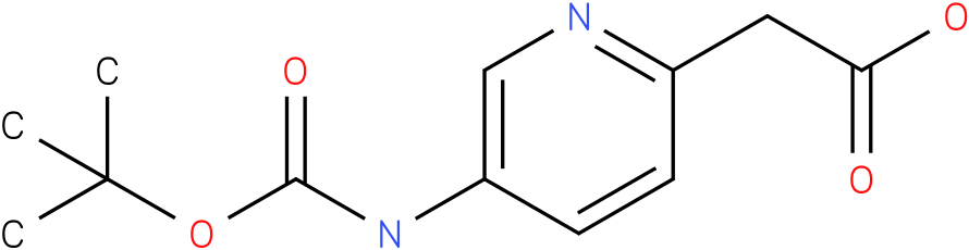 (5-tert-Butoxycarbonylamino-pyridin-2-yl)-acetic acid