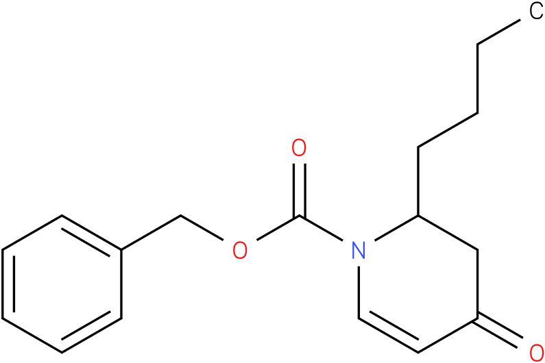 Benzyl 2-n-butyl-4-oxo-3,4-dihydropyridine-1(2H)-carboxylate