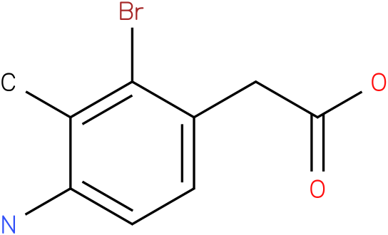 (4-Amino-2-bromo-3-methyl-phenyl)-acetic acid