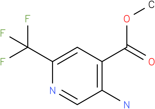 5-Amino-2-trifluoromethyl-isonicotinic acid methyl ester