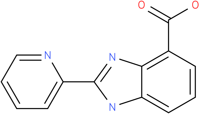 2-(pyridin-2-yl)-1H- benzo[d]imidazole- 4-carboxylic acid