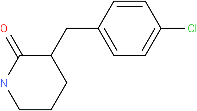 3-(4-chlorobenzyl)piperidin-2-one