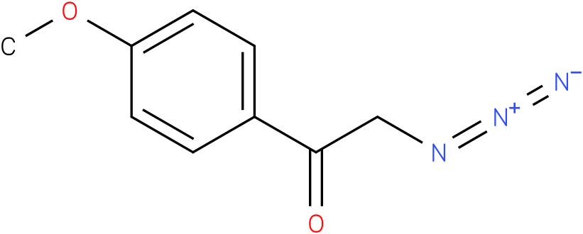 2-azido-1-(4-methoxy-phenyl)-ethanone