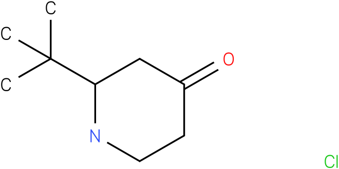 4-Piperidinone, 2-(1,1-dimethylethyl)-, hydrochloride