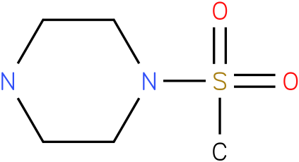 1-(methylsulfonyl)piperazine