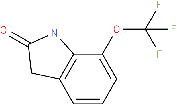 7-(trifluoromethoxy)indolin-2-one