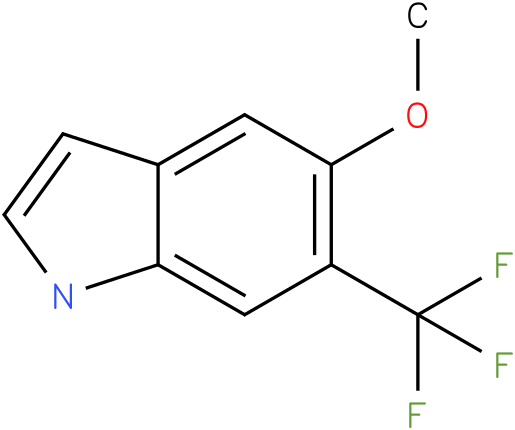 6-(trifluoromethyl)-5-methoxy-1H-indole