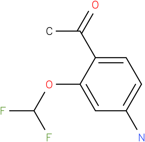 1-(4-Amino-2-difluoromethoxy-phenyl)-ethanone
