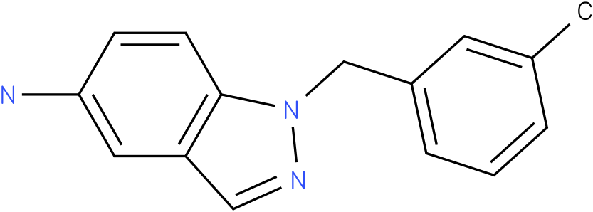 1-(3-methylbenzyl)-1H-indazol-5-amine