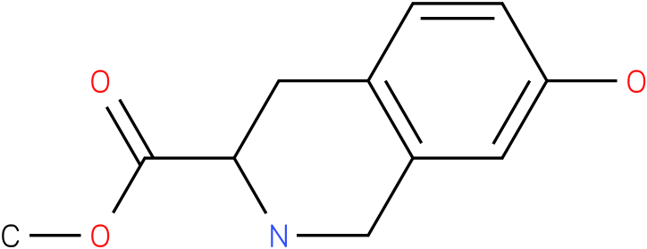 methyl 1,2,3,4-tetrahydro-7-hydroxyisoquinoline-3-carboxylate