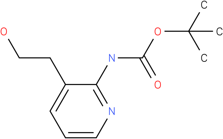 [3-(2-Hydroxy-ethyl)-pyridin-2-yl]-carbamic acid tert-butyl ester
