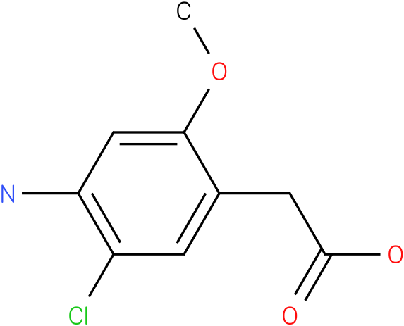 (4-Amino-5-chloro-2-methoxy-phenyl)-acetic acid