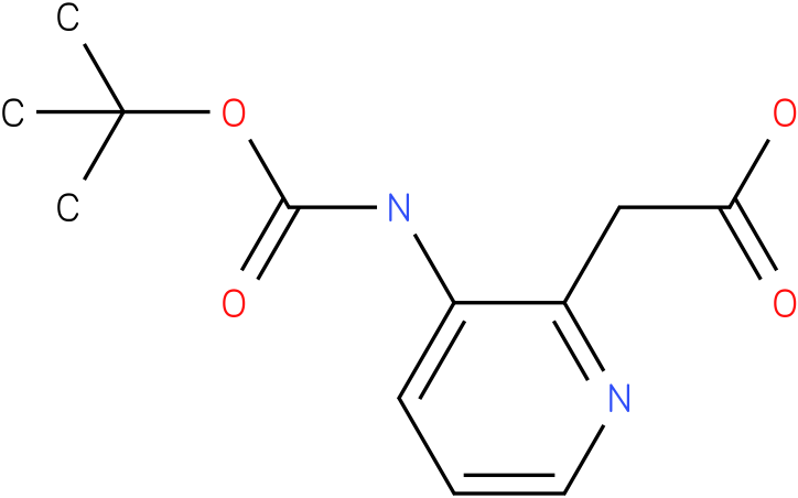 (3-tert-Butoxycarbonylamino-pyridin-2-yl)-acetic acid