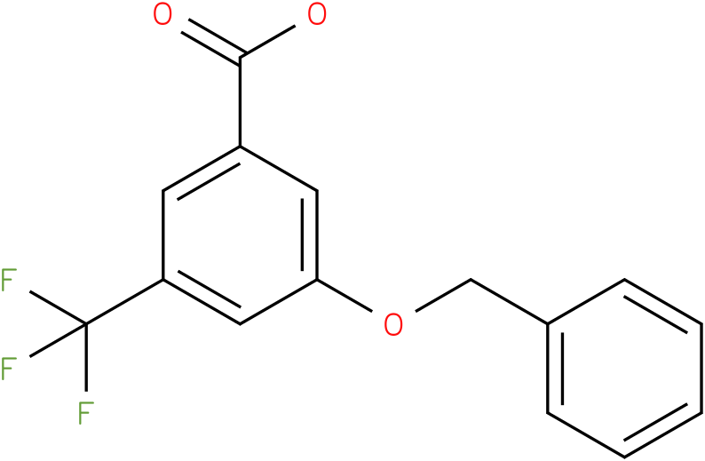 3-(benzyloxy)-5-(trifluoromethyl)benzoic acid