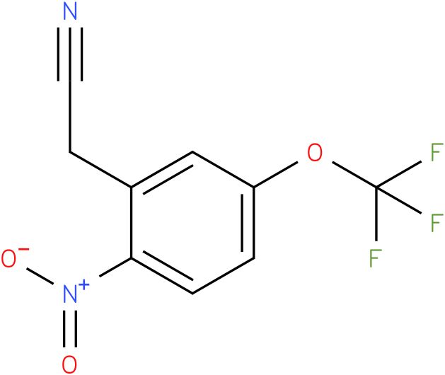 2-(2-nitro-5-(trifluoromethoxy)phenyl)acetonitrile