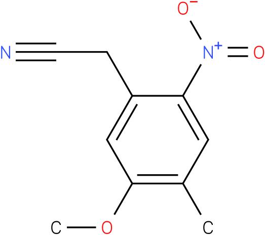 2-(5-methoxy-4-methyl-2-nitrophenyl)acetonitrile