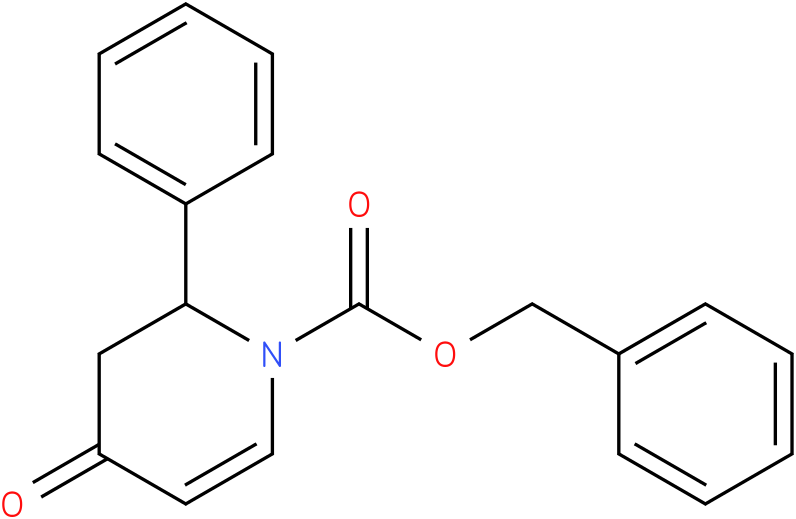 Benzyl 2-phenyl-4-oxo-3,4-dihydropyridine-1(2H)-carboxylate