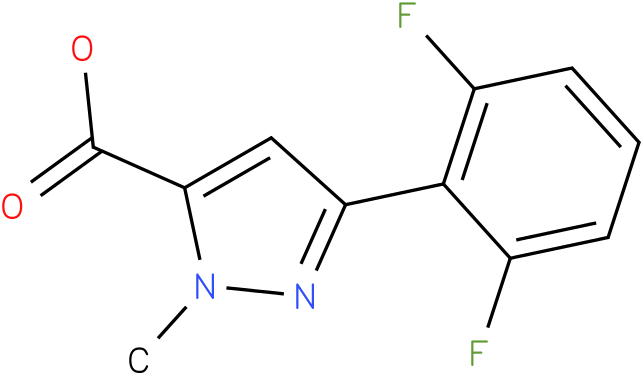 3-(2,6-difluorophenyl)-1-methyl-1H-pyrazole-5-carboxylic acid