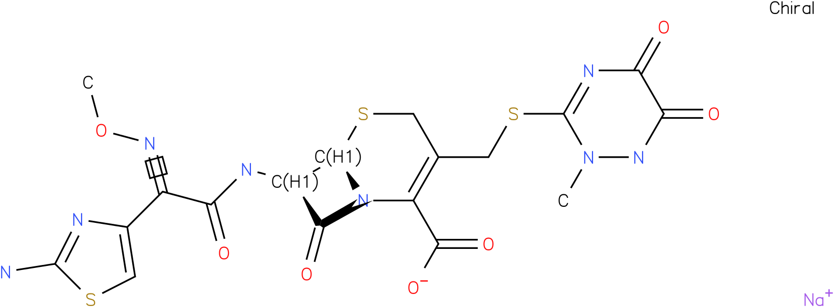 CEFTRIAXONE SODIUM CRUDE