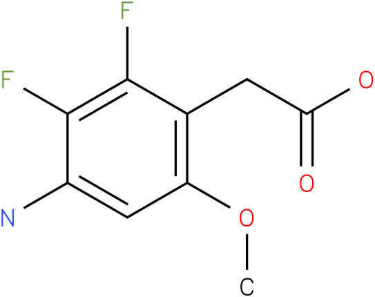 (4-Amino-2,3-difluoro-6-methoxy-phenyl)-acetic acid