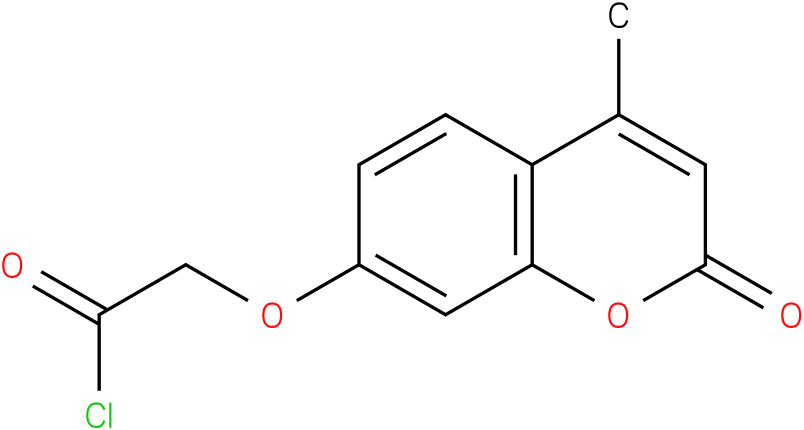 7-[(Chlorocarbonyl)methoxy]-4-methylcoumarin