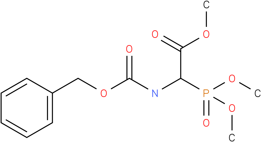 (+/-)-BENZYLOXYCARBONYL-ALPHA-PHOSPHONOGLYCINE TRIMETHYL ESTER