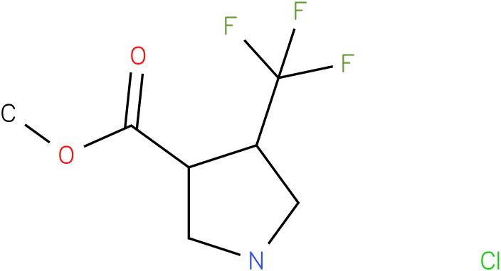 4-Trifluoromethyl-pyrrolidine-3-carboxylic acid methyl ester hydrochloride