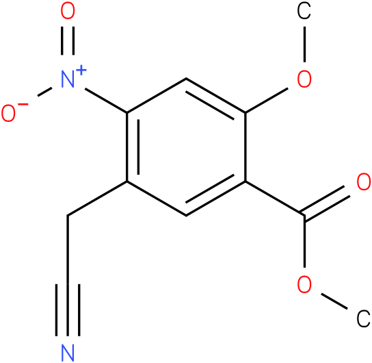 methyl 5-(cyanomethyl)-2-methoxy-4-nitrobenzoate