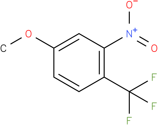 1-(trifluoromethyl)-4-methoxy-2-nitrobenzene
