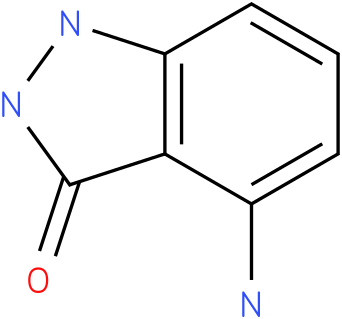 3H-INDAZOL-3-ONE,4-AMINO-1,2-DIHYDRO,