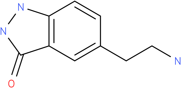 3H-INDAZOL-3-ONE,5-(AMINOETHYL)-1,2-DIHYDRO
