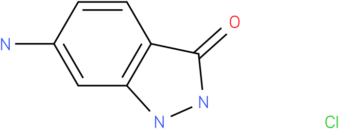 3H-INDAZOL-3-ONE,6-AMINO-1,2-DIHYDRO,HYDRCHLORIDE (1:1)