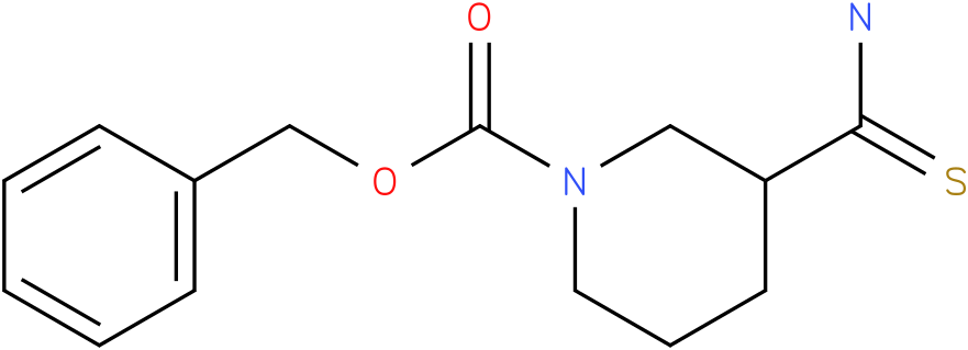 (1-Cbz-3-piperidine)carbothioamide